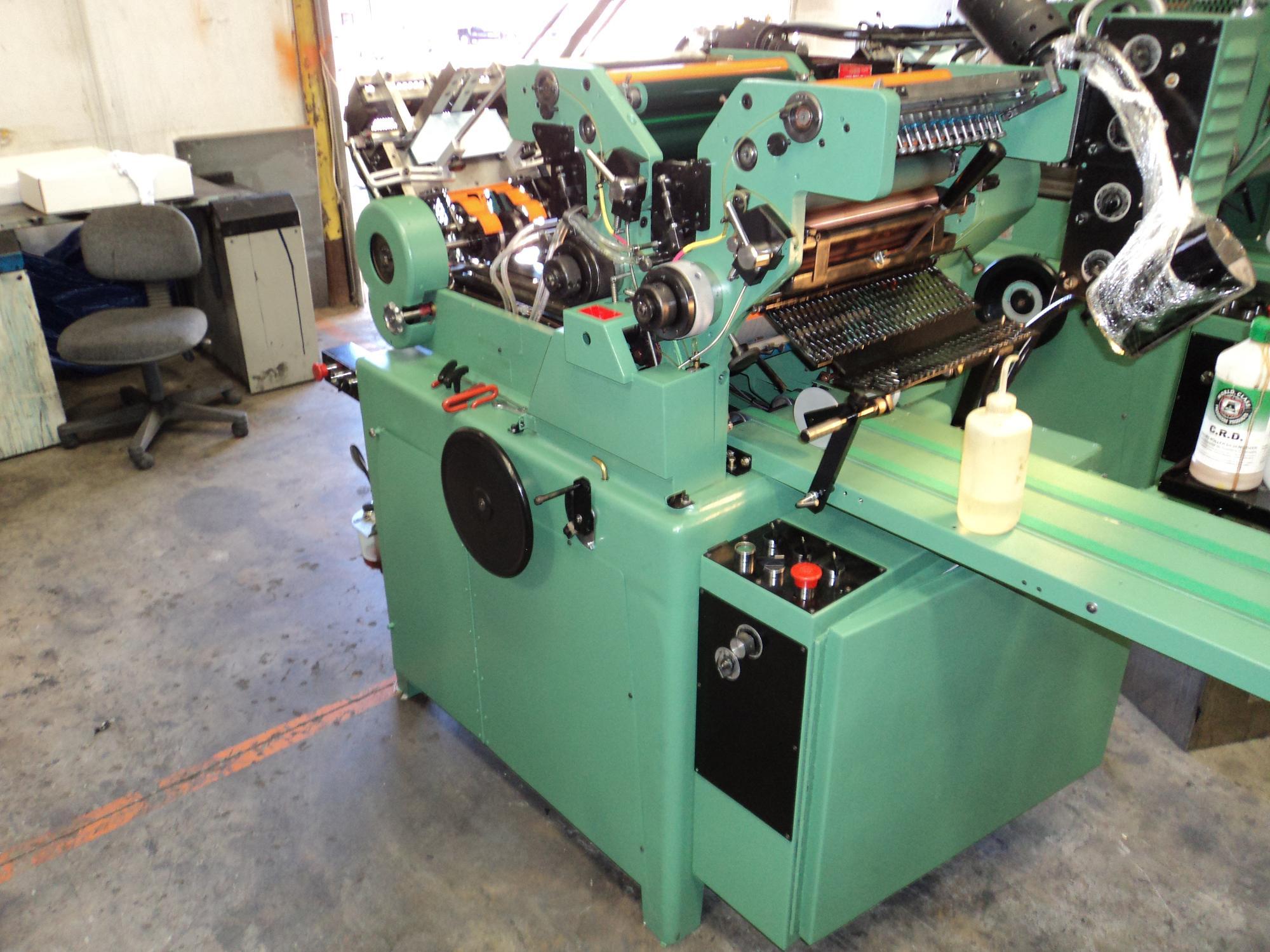 rebuilt halm jet press 2 color perfector 1