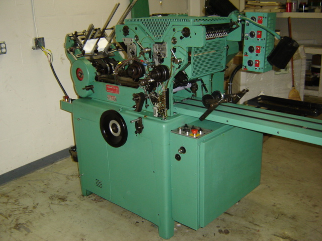 1994 Halm Jet Press 2 col perf reconditioned 2010 s/n JP5259