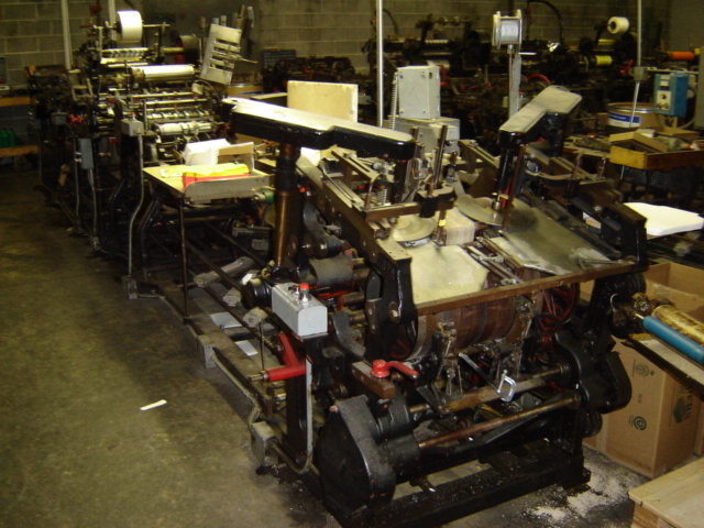 fl smithe wrwpc envelope making machine