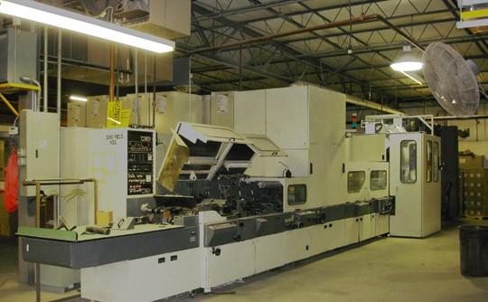 Winkler+Dunnebier 380EU envelope making machine