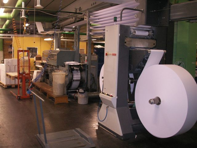 1987 WINKLER+DUNNEBIER 241GS envelope manufacturing machine