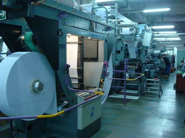 1999 WINKLER+DUNNEBIER 102.00 envelope manufacturing machine