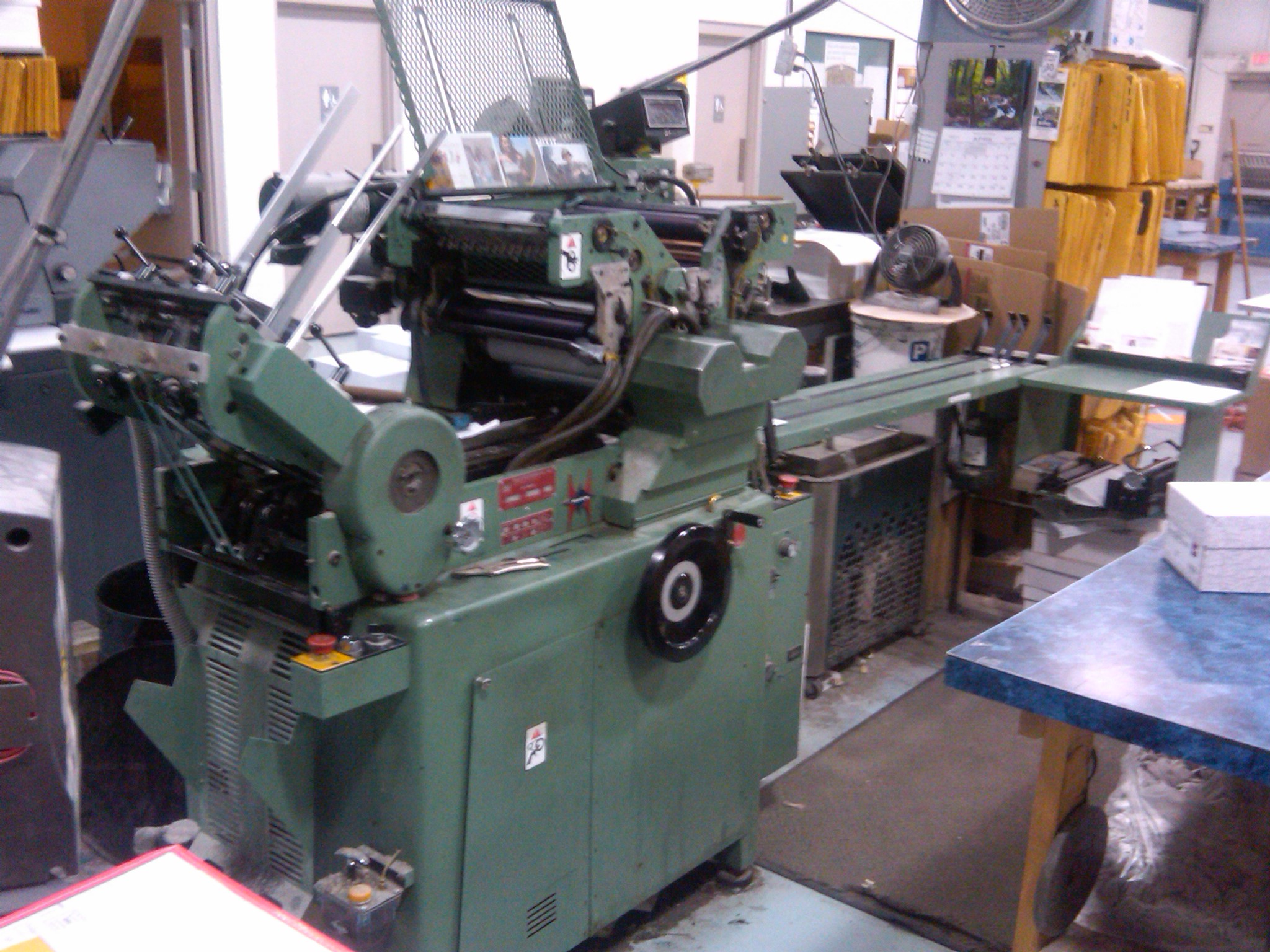 2002 Halm 3 inch 2 color perfector AS IS excellent condition
