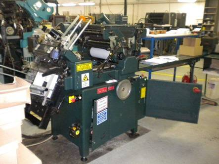 2006 Halm super Jet XL 2 color perf machine model SJP-TWOD-6D-XL