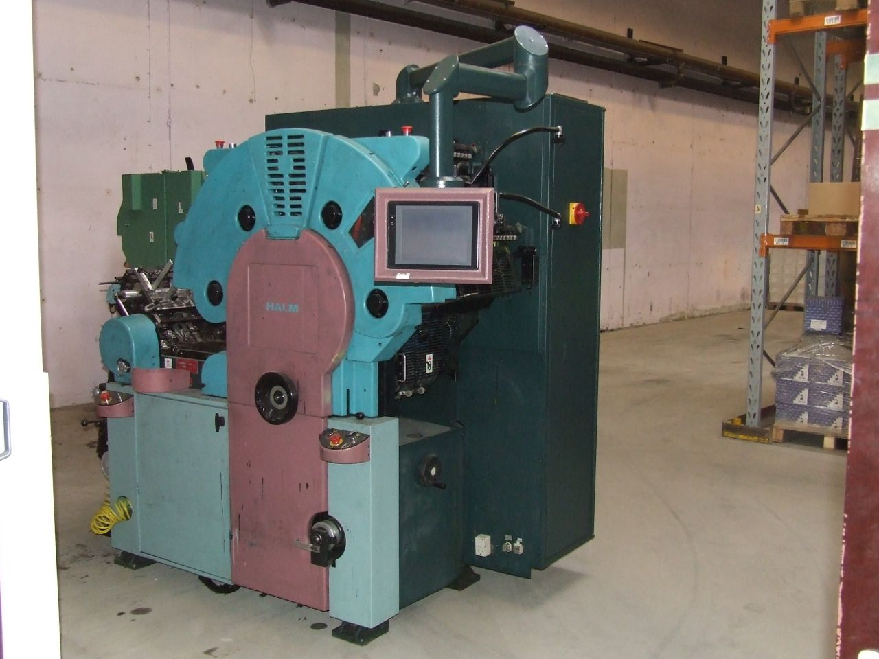 2000 Halm 4 color em4000 wide model machine sn 6142 AS IS EXC cond