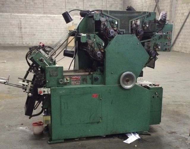 1990 Halm jet press 4 color machine model JP-FWOD sn 3488 excellent condition