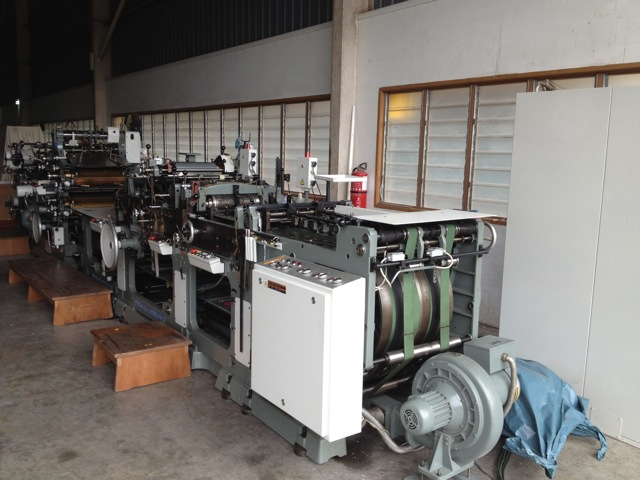 1997 WINKLER+DUNNEBIER 327GSR rebuilt window punch and patch 2over 1 print FOR SALE