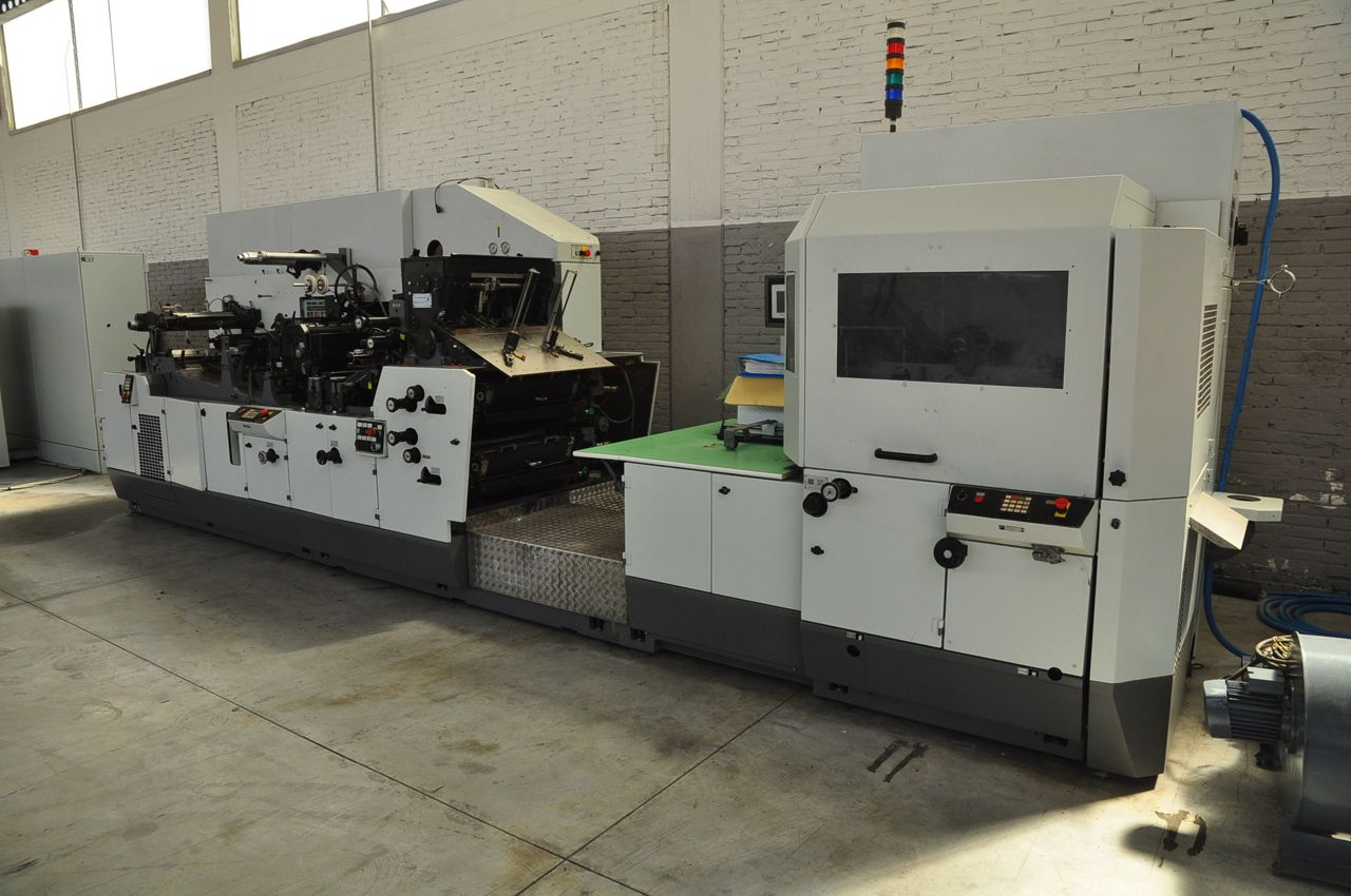 2004 WINKLER+DUNNEBIER 326.01 envelope manufacturing machine