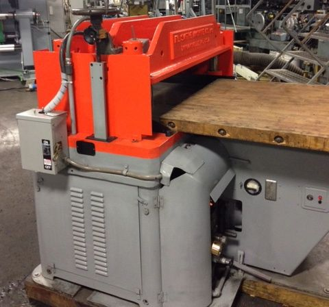 FL SMITHE HP late model automatic envelope hydraulic die cutting machine