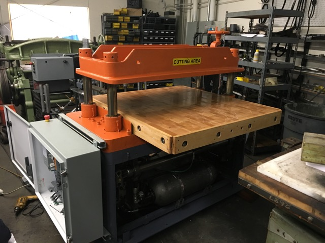 FL SMITHE HP hydraulic press fully rebuilt machine